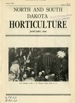 North and South Dakota Horticulture, January 1940