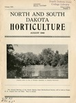 North and South Dakota Horticulture, August 1940