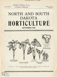 North and South Dakota Horticulture, September 1940