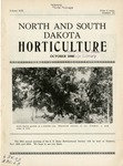 North and South Dakota Horticulture, October 1940