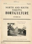 North and South Dakota Horticulture, November 1940