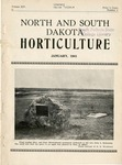 North and South Dakota Horticulture, January 1941