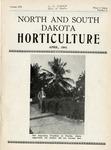 North and South Dakota Horticulture, April 1941