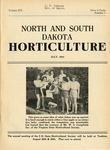 North and South Dakota Horticulture, July 1941