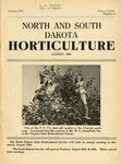 North and South Dakota Horticulture, August 1941