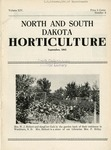 North and South Dakota Horticulture, September 1941
