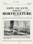 North and South Dakota Horticulture, February 1942