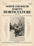 North and South Dakota Horticulture, March 1943