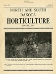 North and South Dakota Horticulture, August 1943