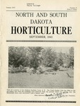 North and South Dakota Horticulture, September 1943