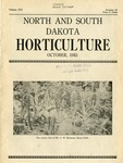 North and South Dakota Horticulture, October 1943