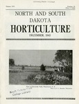 North and South Dakota Horticulture, December 1943