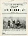 North and South Dakota Horticulture, January 1944 by North and South Dakota State Horticultural Societies