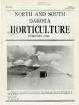 North and South Dakota Horticulture, February 1944