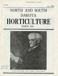 North and South Dakota Horticulture, March 1944