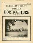 North and South Dakota Horticulture, May 1944 by North and South Dakota State Horticultural Societies