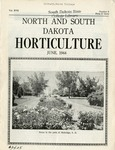 North and South Dakota Horticulture, June 1944 by North and South Dakota State Horticultural Societies