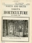 North and South Dakota Horticulture, September 1944