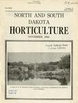 North and South Dakota Horticulture, November 1944