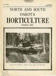 North and South Dakota Horticulture, March 1945 by North and South Dakota State Horticultural Societies