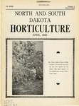 North and South Dakota Horticulture, April 1945 by North and South Dakota State Horticultural Societies