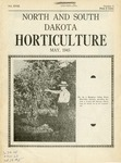 North and South Dakota Horticulture, May 1945