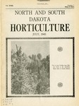North and South Dakota Horticulture, July 1945