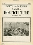 North and South Dakota Horticulture, September 1945