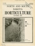 North and South Dakota Horticulture, October 1945 by North and South Dakota State Horticultural Societies