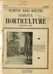 North and South Dakota Horticulture, January 1946