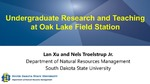 Undergraduate Research and Teaching at Oak Lake Field Station