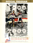 Official Program: 2000 U.S. Olympic Team Trials Track and Field, July 14-23, Alex G. Spanos Sports Complex, California State University Sacramento by United States Olympic Team Trials Track & Field