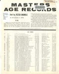 Masters Age Records
