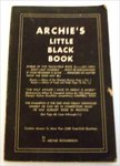 Archie's Little Black Book. by Archie Richardson
