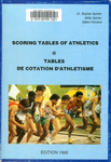 Scoring Tables of Athletics = Tables de Cotation d'athletisme