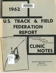 U.S. Track and Field Federation Report, Clinic Notes.