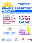 PRT is Back For A 50th Year : Prairie Repertory Theatre Program, 2021