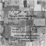 Aurora County, SD Air Photos (1941)
