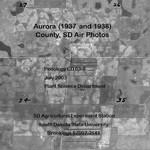 Aurora County, SD Air Photos (1937 and 1938)