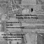 Beadle (1939 Part A) County, SD Air Photos