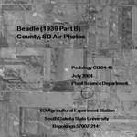 Beadle County, SD Air Photos (1939 Part B)