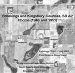 Kingsbury County, SD Air Photos (1951)