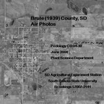 Brule County, SD Air Photos (1939) by Plant Science Department