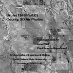 Brule County, SD Air Photos (1949 Part C) by Plant Science Department