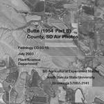Butte County, SD Air Photos (1954 Part B)