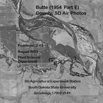 Butte County, SD Air Photos (1954 Part E)