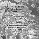 Butte County, SD Air Photos (1954 Part F and 1967 Part A)
