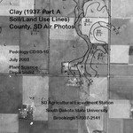 Clay County, SD Air Photos (1937 Part A Soil/Land Use Lines)