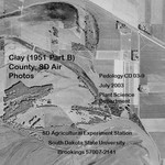 Clay County, SD Air Photos (1951 Part B) by Plant Science Department