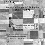 Codington County, SD Air Photos (1953 - Part A) by Plant Science Department